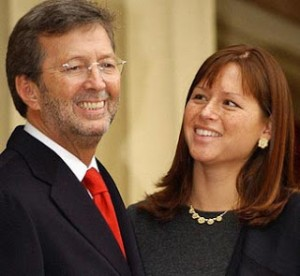 Clapton and Wife