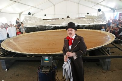 World's Longest Pumpkin Pie