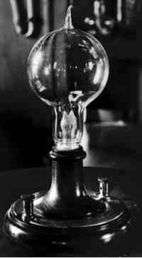 The invention ofl light bulb changed