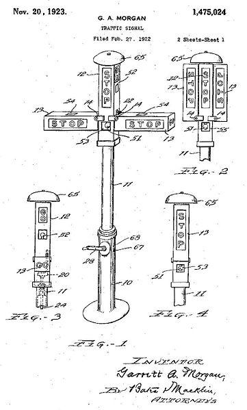 first traffic signal