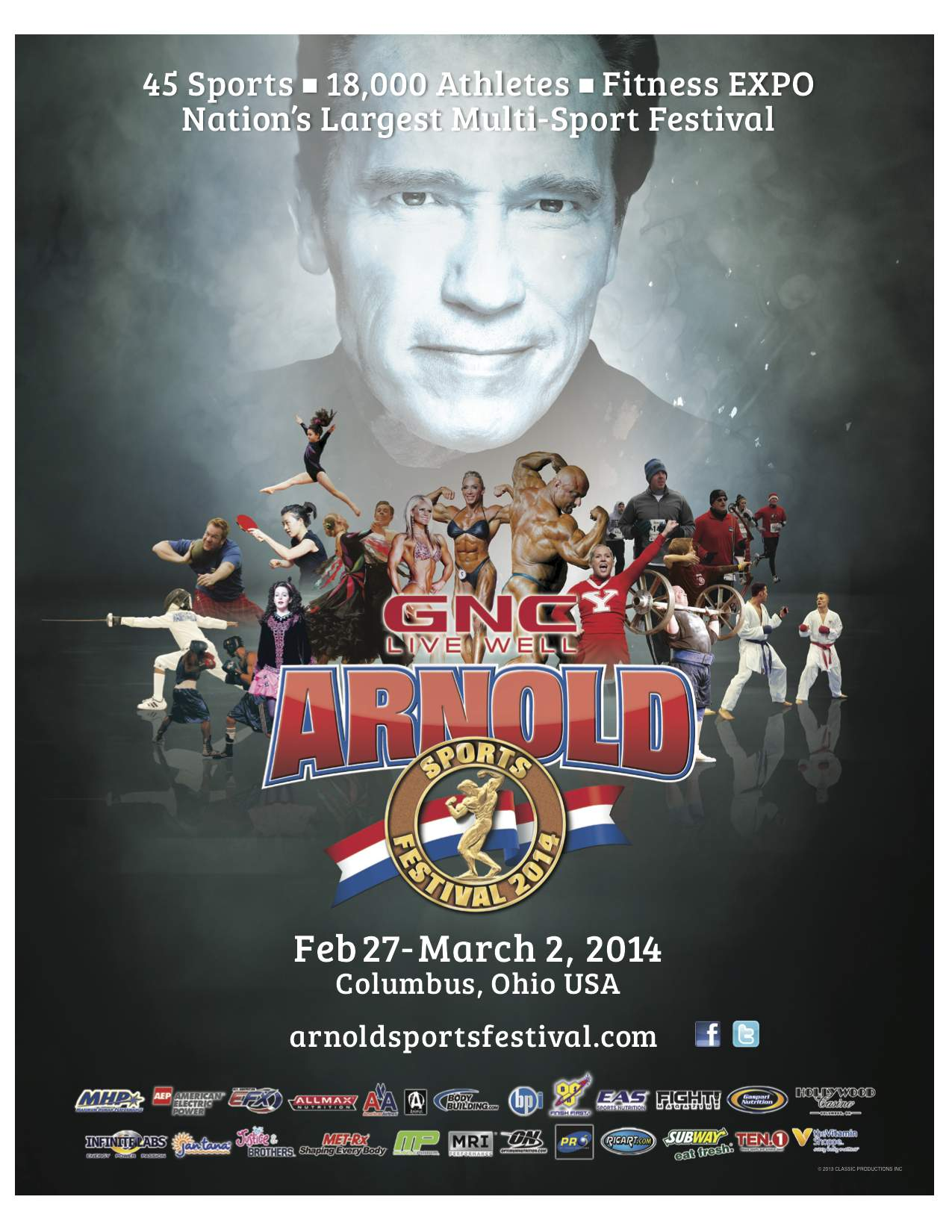 Arnold Sports Active Aging Festival - RMAX International