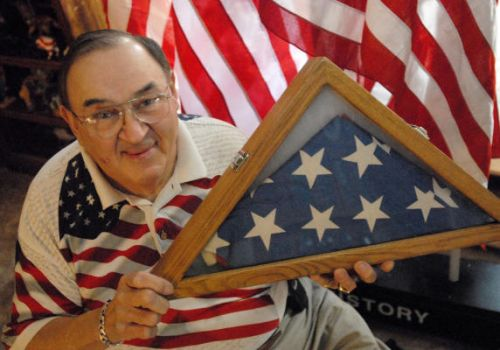 Lancaster's Robert G. Heft, designer of the current 50-Star American Flag