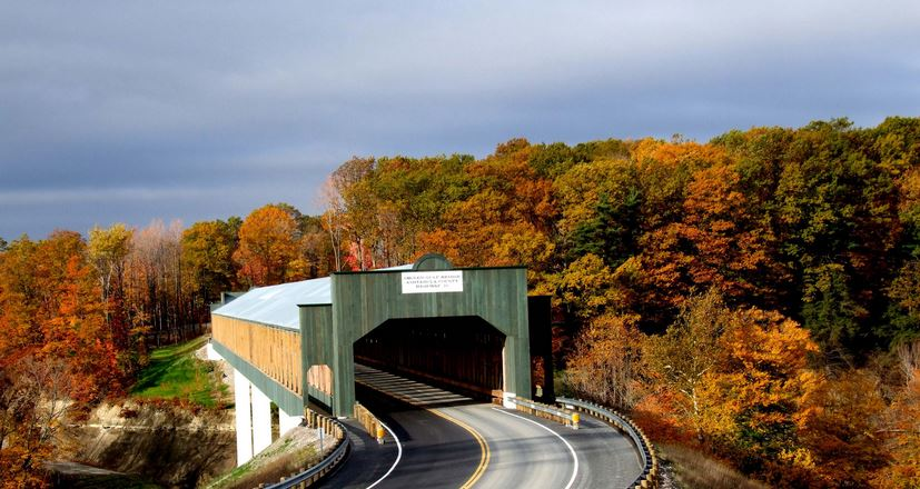 longest covered bridge