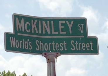 McKinleyStreetSign