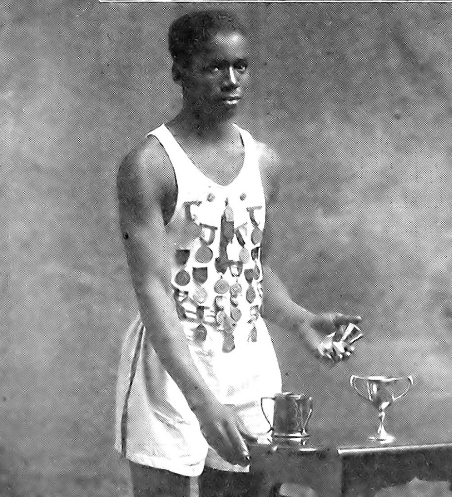 First African American Gold Medalist
